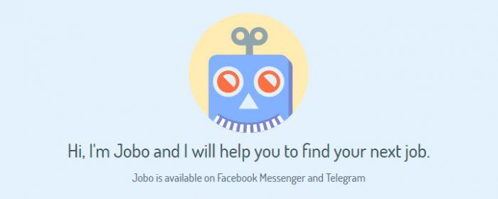 Jobo: il bot di Telegram e Messenger per trovare lavoro