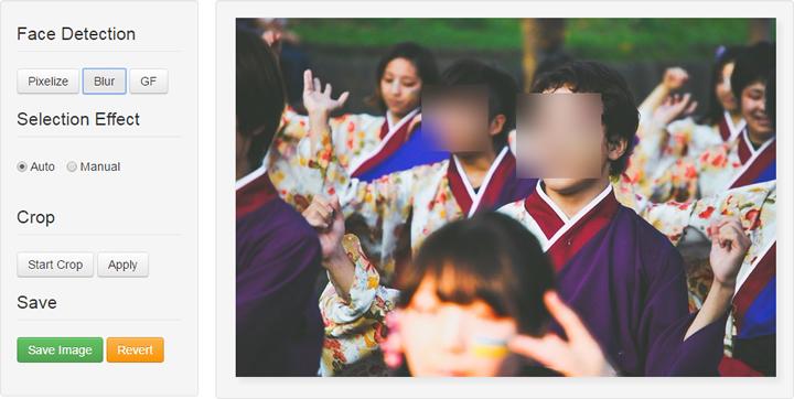 Facepixelizer - Blur Effect
