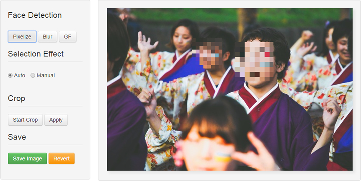 Facepixelizer - Pixel Effect