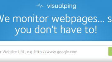 Visualping: Il tool che ti avvisa quando un sito viene aggiornato
