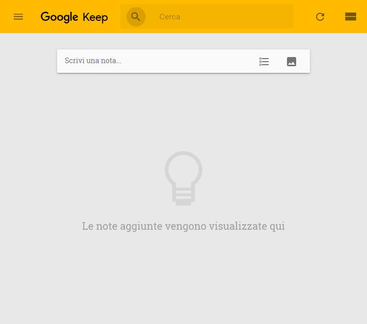 Google Keep - Home