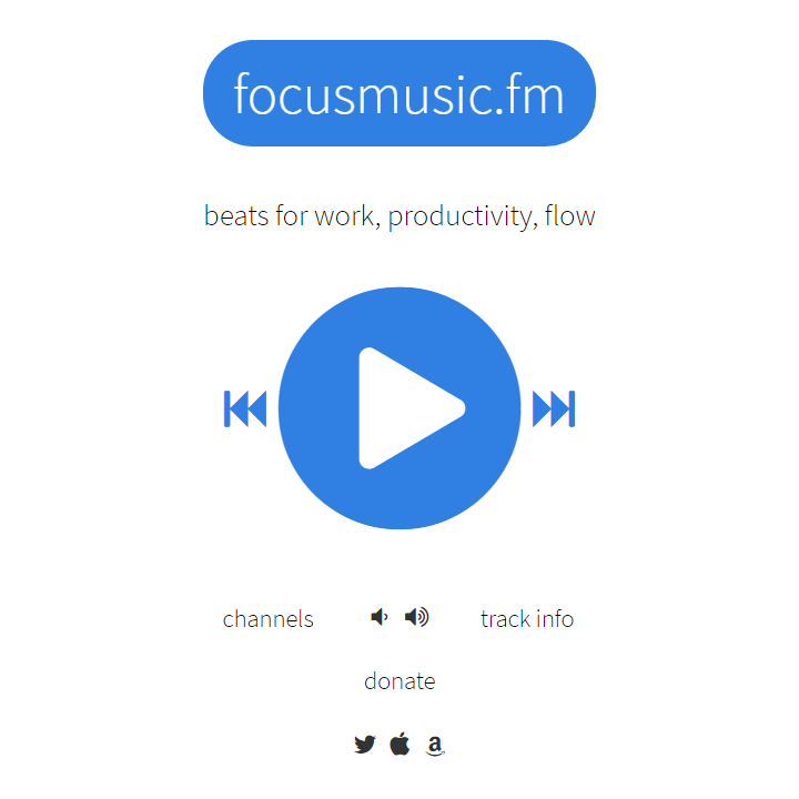 Focusmusic.fm - Homepage